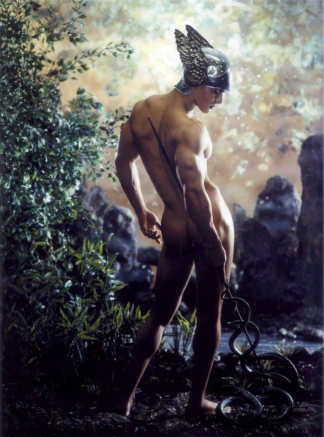 Pierre et Gilles (born respectively in 1950 and 1953) 'Mercury' 2001