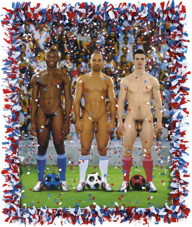 Pierre et Gilles (born respectively in 1950 and 1953) 'Vive la France' 2006