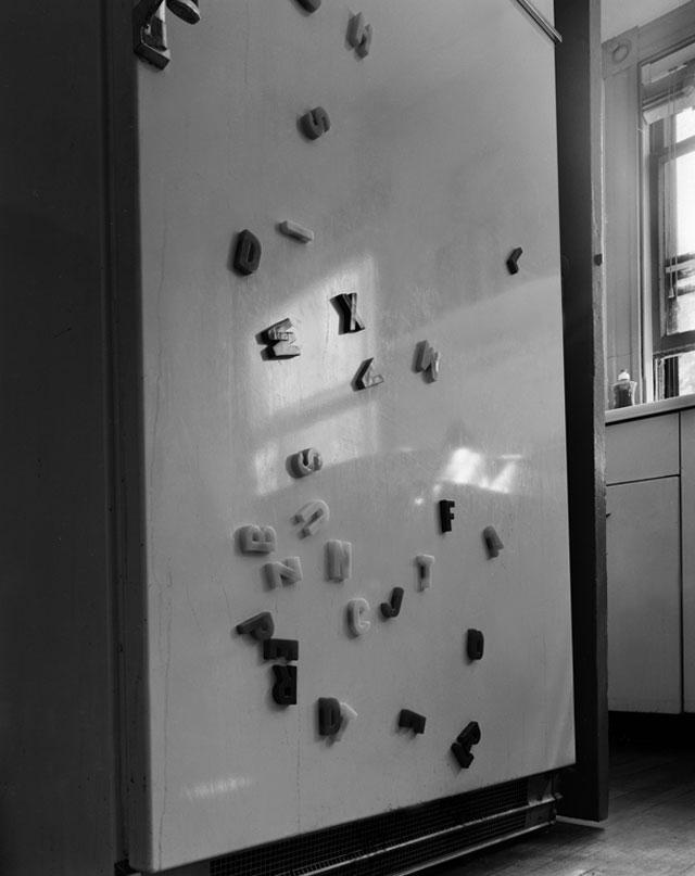 Abelardo Morell (American, born Cuba, 1948) 'Refrigerator' 1987