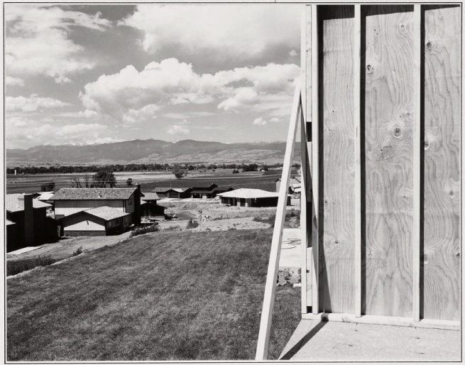 Robert Adams. 'New Housing, Longmont, Colorado' 1973