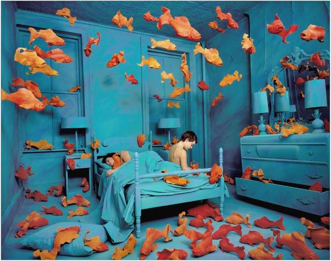 Sandy Skoglund (b. 1946) 'Revenge of the Goldfish, 1980' 1980