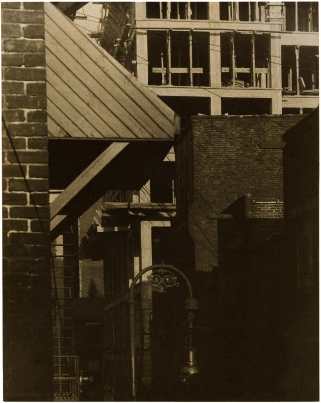 Morton Schamberg (American, 1881-1918) 'Cityscape' 1916