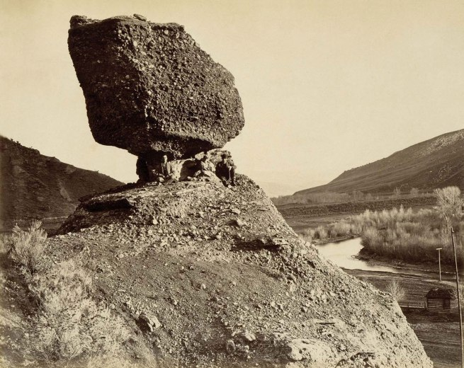 Andrew Joseph Russell. 'Sphinx of the Valley' 1869