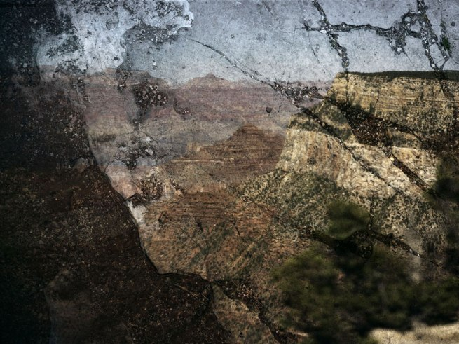 Abelardo Morell (American, born Cuba, 1948) 'Tent-Camera Image on Ground: View of the Grand Canyon from Trailview Overlook' 2012