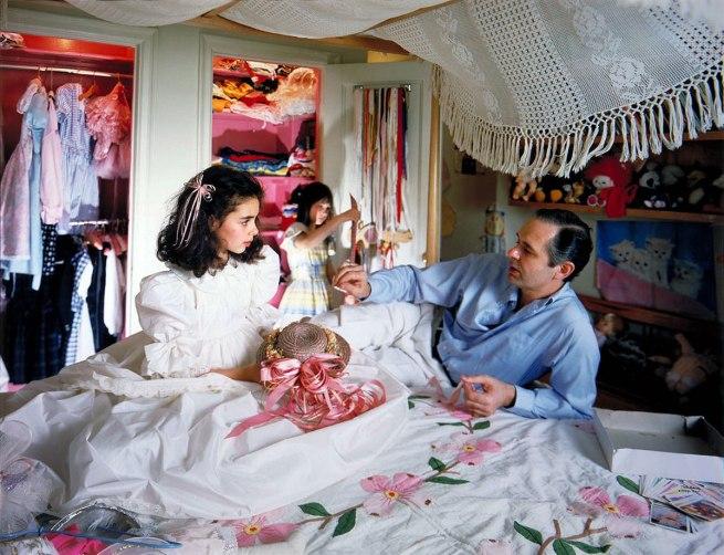 Tina Barney (born New York City 1945) 'Marina's Room' 1987
