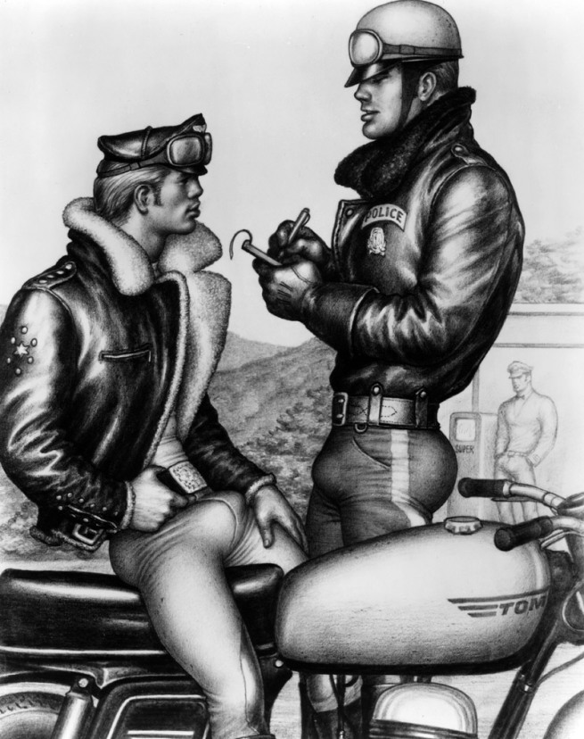 Tom of Finland (Touko Laaksonen, Finnish, 1920-1991) 'Untitled' 1962