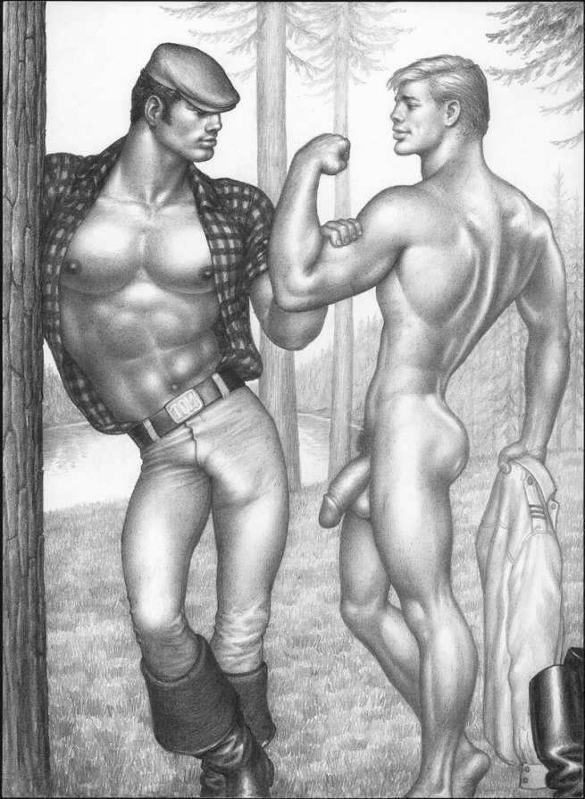 Tom of Finland (Touko Laaksonen, Finnish, 1920-1991) 'Untitled' 1968