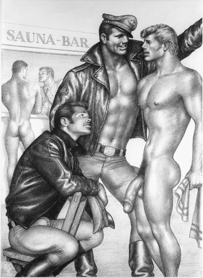 Tom of Finland (Touko Laaksonen, Finnish, 1920-1991) 'Youthful Innocence' 1969