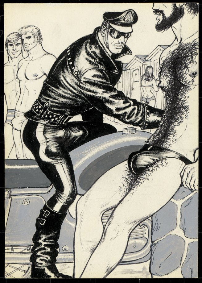 Tom of Finland (Touko Laaksonen, Finnish, 1920-1991) 'Untitled' (From 'Beach Boy 1' story) 1971