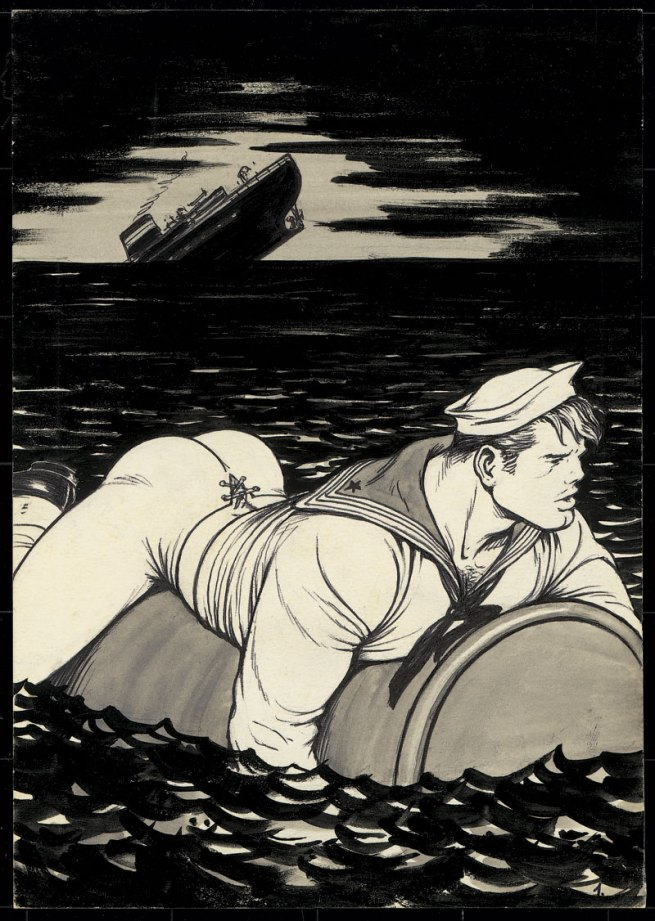 Tom of Finland (Touko Laaksonen, Finnish, 1920-1991) 'Untitled' (From 'Jungle Seafood' story) 1972