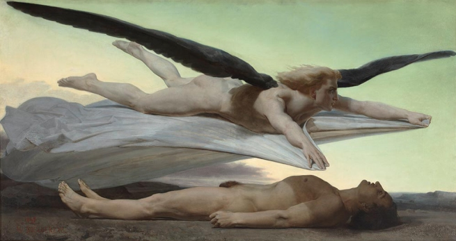 William Bouguereau (1825-1905) 'Equality before Death' 1848