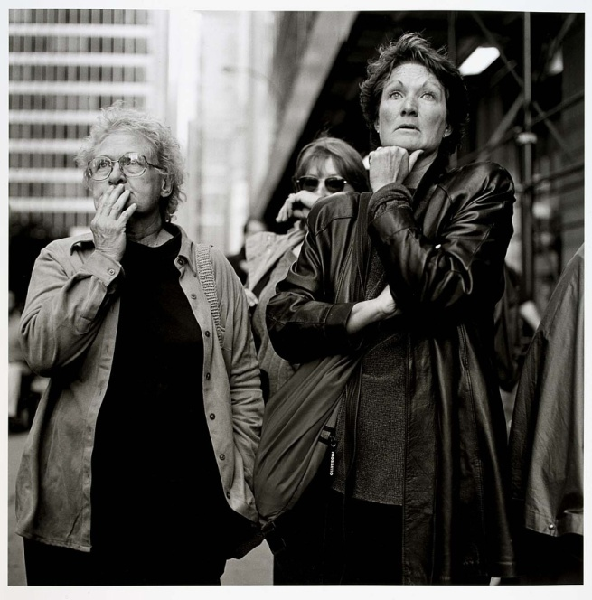 Kevin Bubriski. 'World Trade Center Series, New York City' 2001