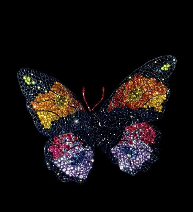 JAR. 'Butterfly Brooch' 1994