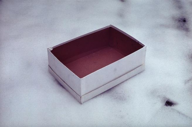 Gabriel Orozco (Mexican, born 1962) 'Caja vacia de zapatos' (Empty shoebox) 1993