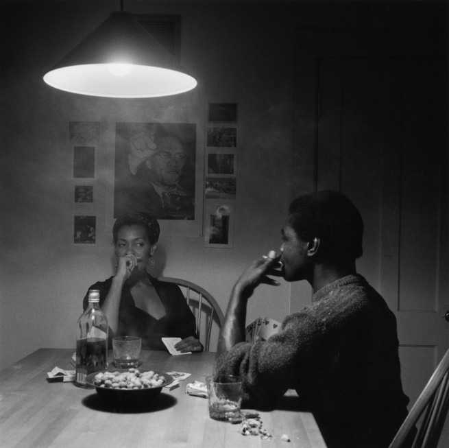 Carrie Mae Weems (American, born 1953) 'Untitled (Man Smoking)' 1990