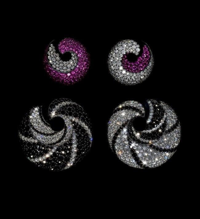 JAR. 'Hoop Earrings' 2008 and 2010