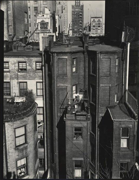 Brett Weston (American, 1911-1993) '[Airshafts, New York]' c. 1945