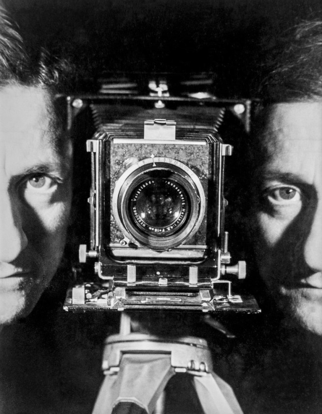 Erwin Blumenfeld. 'Self-Portrait' Paris, c. 1937