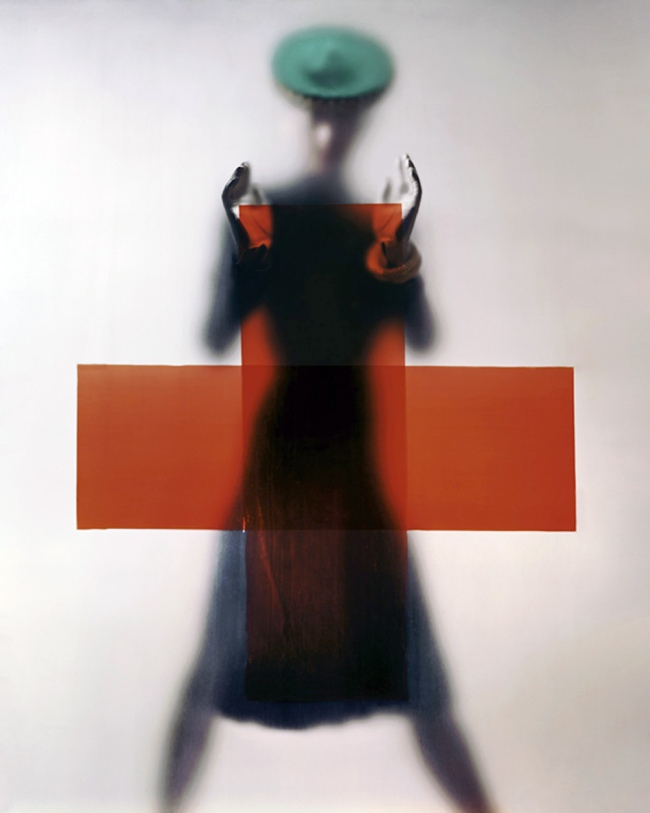 Erwin Blumenfeld. 'Do your part for the Red Cross' [Soutenez la Croix-Rouge] 1945