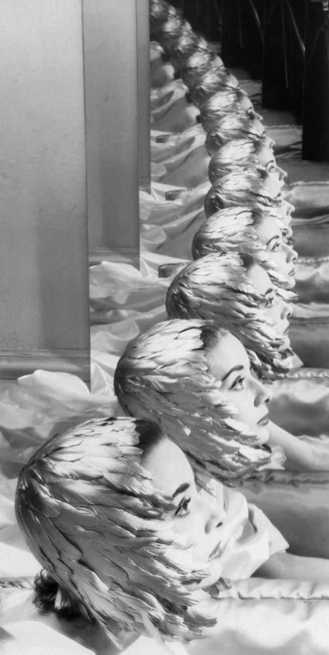 Erwin Blumenfeld. 'Audrey Hepburn' New York, 1950