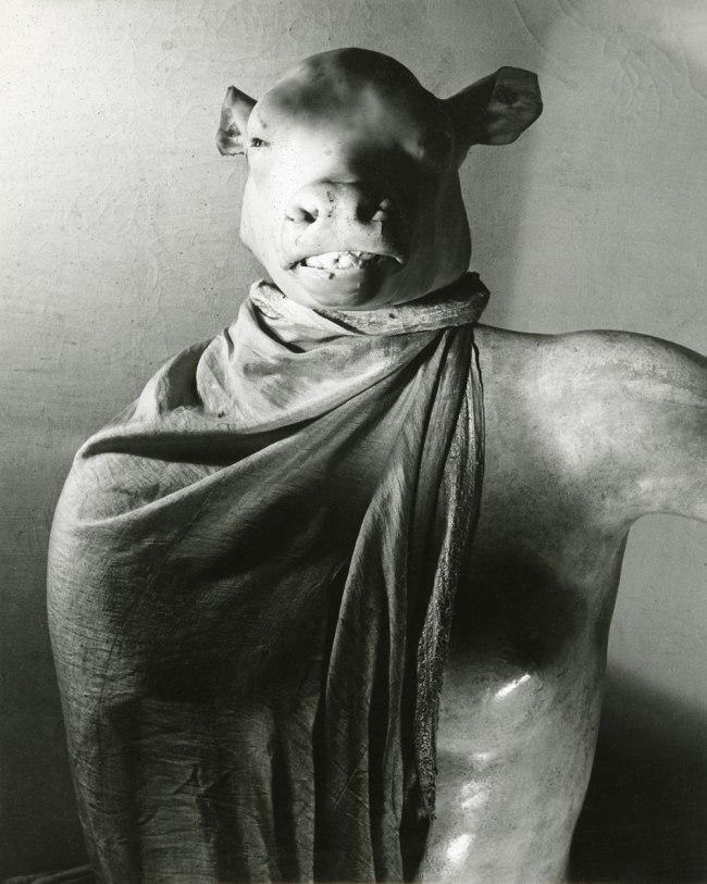Erwin Blumenfeld. 'Minotaur / Dictator' [Minotaure / Dictateur] The Minotaur or The Dictator Paris, c. 1937