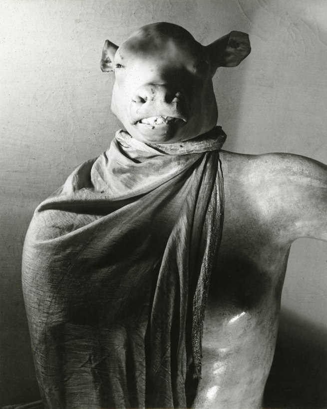 Erwin Blumenfeld. 'Minotaur / Dictator' [Minotaure / Dictateur] The Minotaur or The Dictator Paris, c. 1937