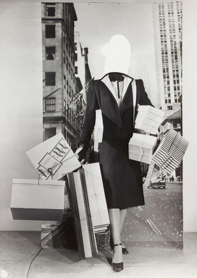 Erwin Blumenfeld. 'Mode-Montage' c. 1950