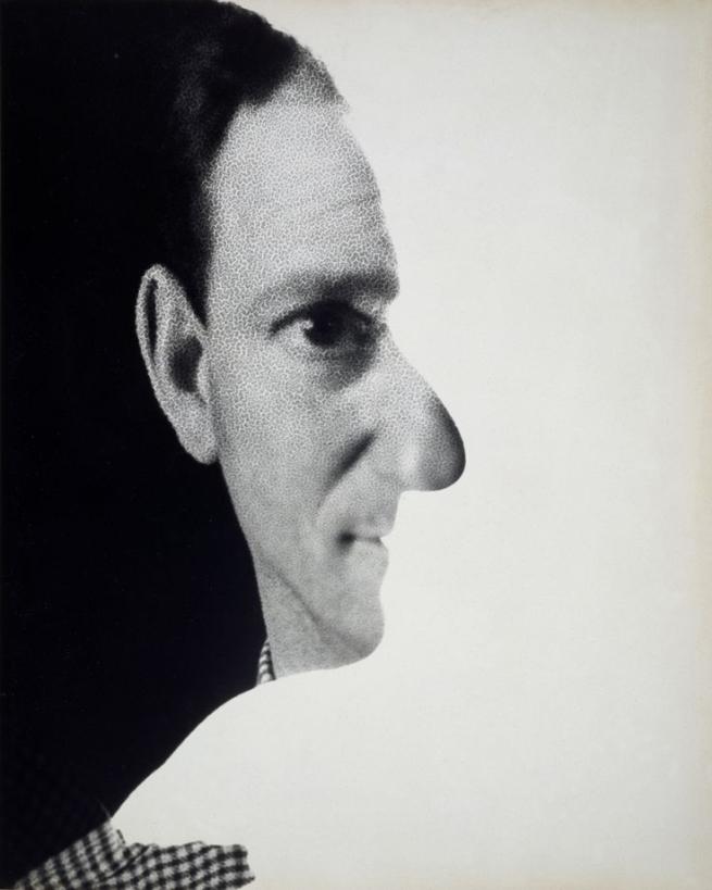 Erwin Blumenfeld. 'Untitled (Self-Portrait)' 1945