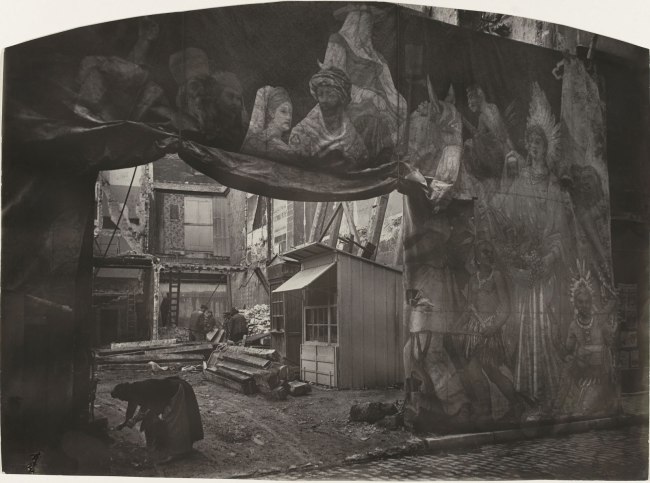 Félix Thiollier (1842-1914) 'Decor for a fete or fair, Saint-Etienne' (Décor de fête ou de foire, Saint-Etienne) 1890-1910