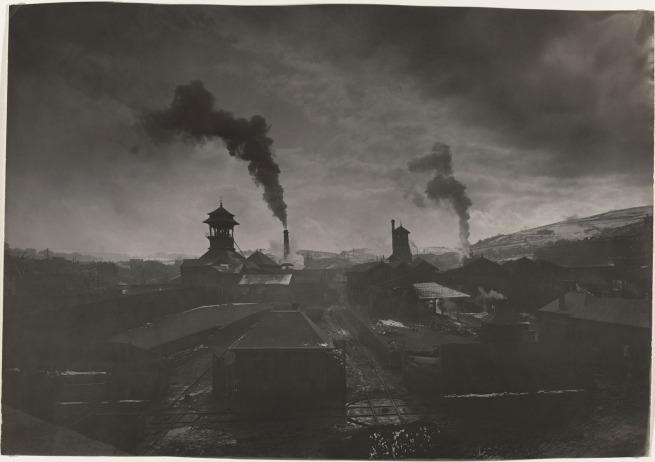 Félix Thiollier (1842-1914) 'Mining Landscape, The Chatelus Pit at Saint-Etienne' 1907-1912