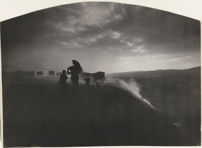 Félix Thiollier (1842-1914) 'Mining Landscape, Saint-Etienne' 1895-1910