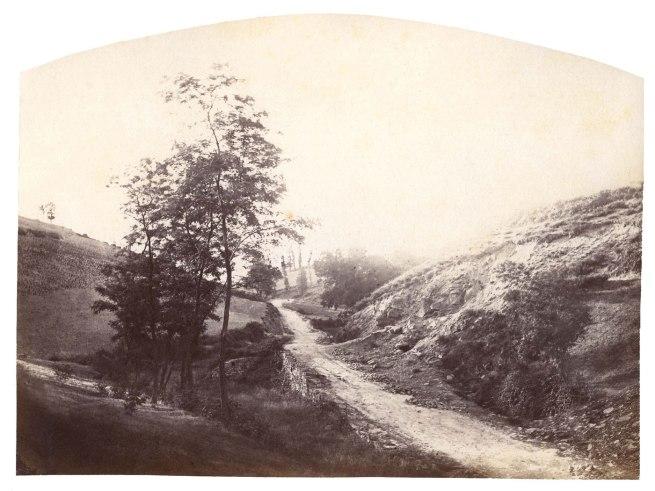 Félix Thiollier (1842-1914) '4 am Roche-La-Moliere, Forez' c. 1870