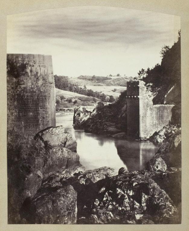 Félix Thiollier (1842-1914) 'Landscape with Ruin' c. 1870