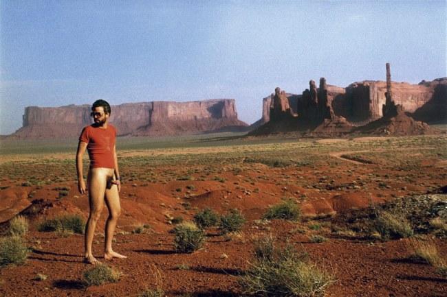 Gelitin. 'Ständerfotos - Nudes' (Standing Photos - Nudes) 2000