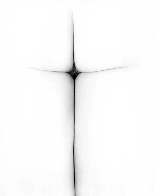 Erwin Blumenfeld. 'In hoc signo vinces [in this sign you will conquer]' 1967