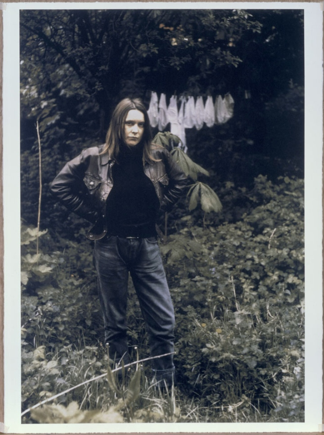 Sarah Lucas. 'Self Portrait with Knickers' 1999