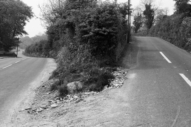 Willie Doherty (Northern Ireland, b. 1959) 'TO THE BORDER' From the series 'A Fork In The Road' 1986-2012