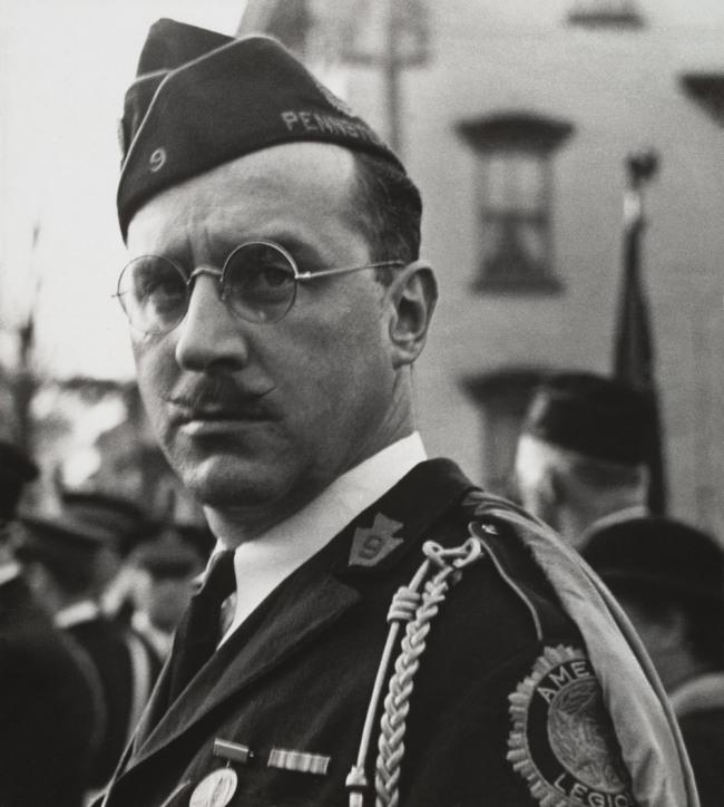 Walker Evans (American, 1903-1975) 'American Legionnaire' 1936