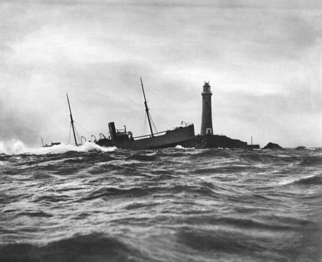 The Gibsons of Scilly. 'SS Blue Jacket' 1898