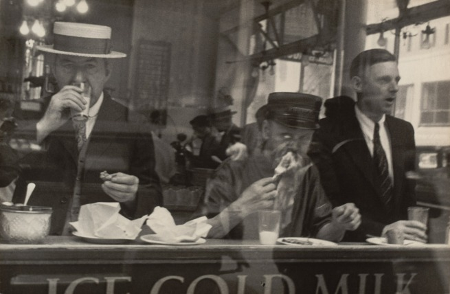 Walker Evans (American, 1903-1975) 'City Lunch Counter, New York' 1929