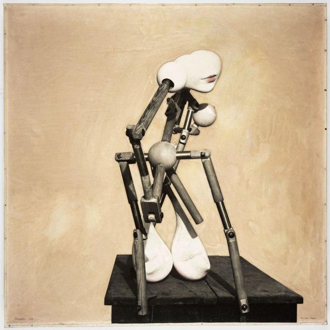 Hans Bellmer. 'La mitrailleuse en état de grâce' (The Machine Gun[neress] in a State of Grace) 1937