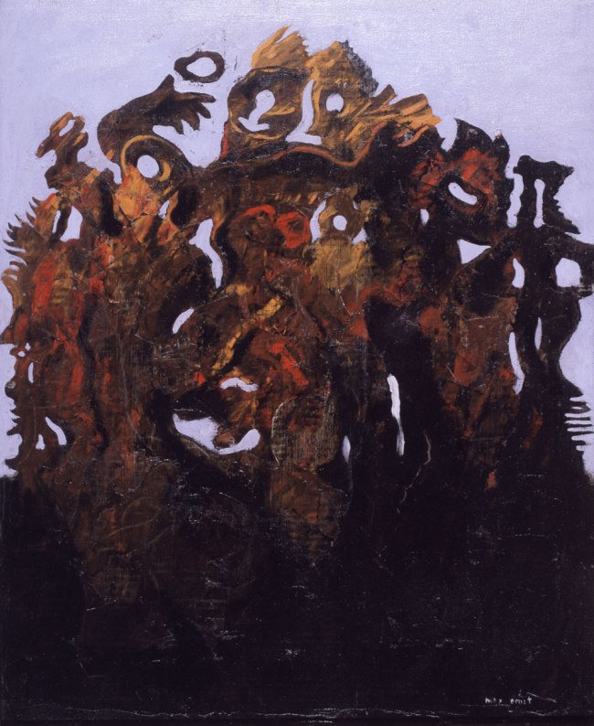 Max Ernst. 'La famille nombreuse' (The Numerous Family) 1926