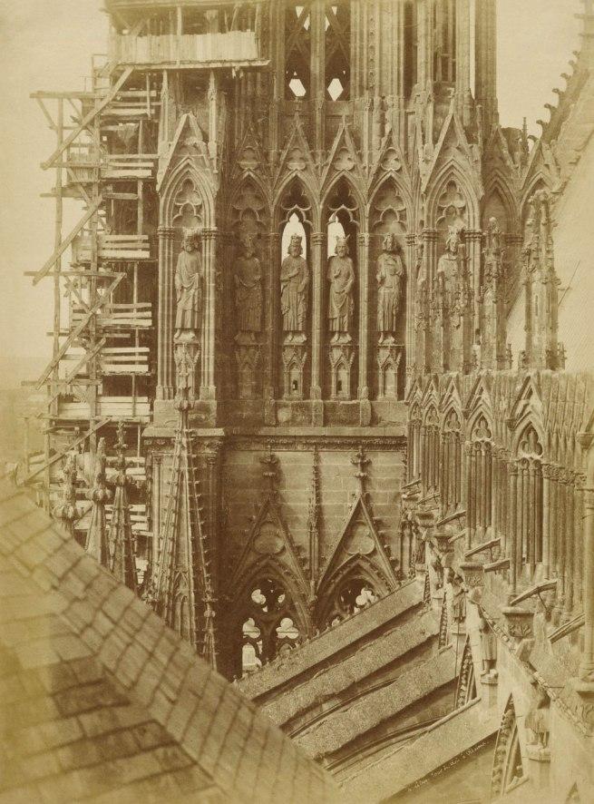 Henri Le Secq (French, 1818 - 1882) 'Tour de Rois à Rheims' ('Tower of the Kings at Rheims Cathedral') 1851