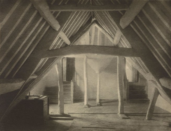 Frederick H. Evans (British, 1863 - 1943) 'Kelmscott Manor: In the Attics (No. 1)' 1896