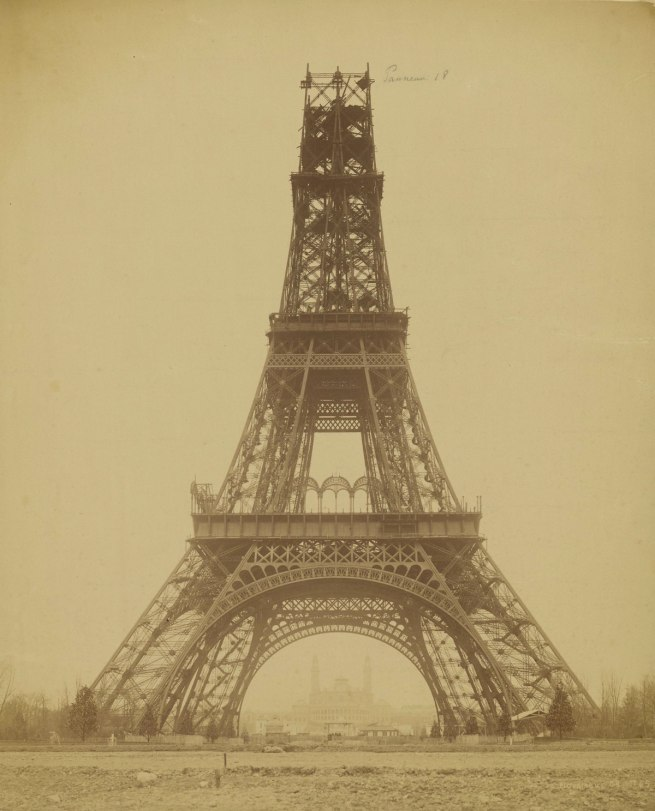 Louis-Émille Durandelle (French, 1839 - 1917) 'The Eiffel Rower: State of Construction' 1888