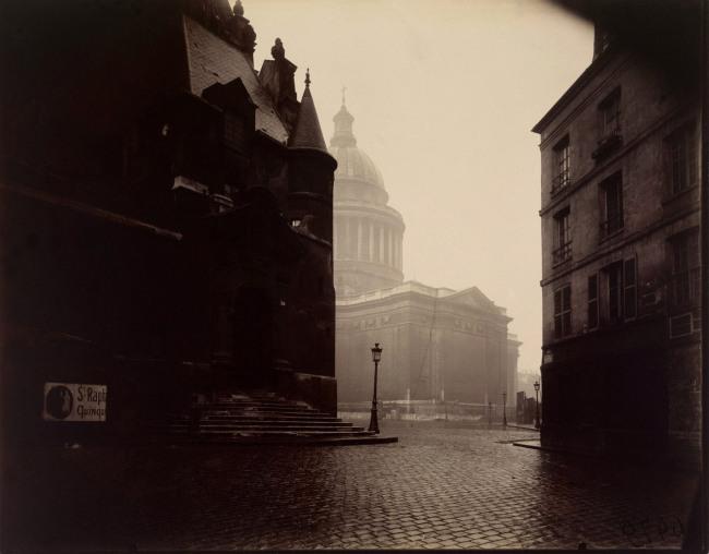 Eugéne Atget (French, 1857 - 1927) 'The Panthéon' 1924