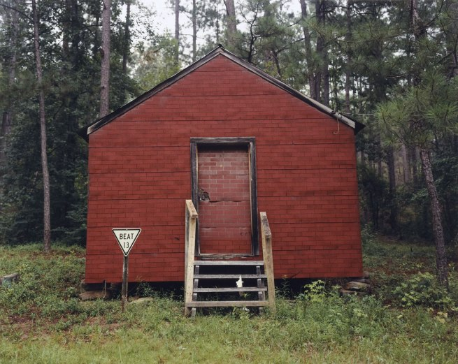 William Christenberry (American, born 1936) 'Red Building in Forest, Hale County, Alabama' 1964