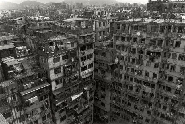 Ryuji Miyamoto (Japanese, born 1947) 'Kowloon Walled City' 1987