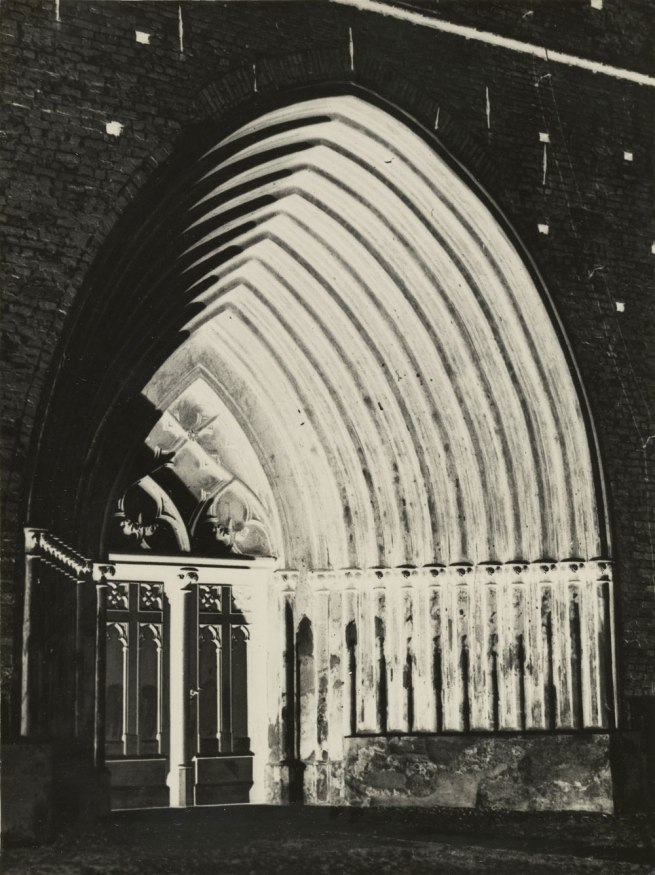 Andreas Feininger (American, born France, 1906 - 1999) 'Portal in Greifswald' 1928