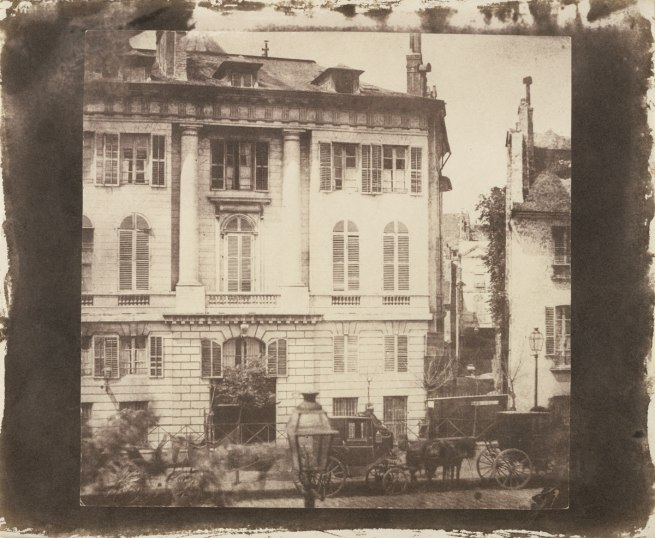 William Henry Fox Talbot (English, 1800 - 1877) 'Boulevard des Italiens, Paris' 1843